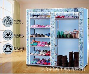 Tủ vải đựng giày dép 9 ngăn thông minh