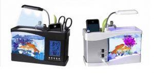 Bể cá phong thủy mini sử dụng nguồn USB