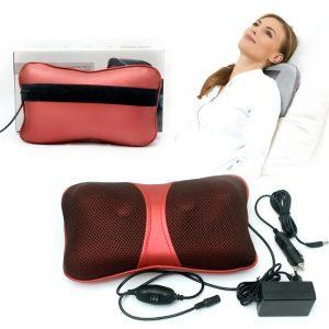 Gối massage hồng ngoại nhỏ gọn, đa năng, phù hợp với nhiều đối tượng khác nhau