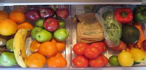 Bảo quản trái cây trong tủ lạnh