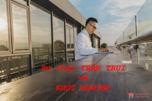 Khởi nghiệp kinh doanh, sự thật trần trụi