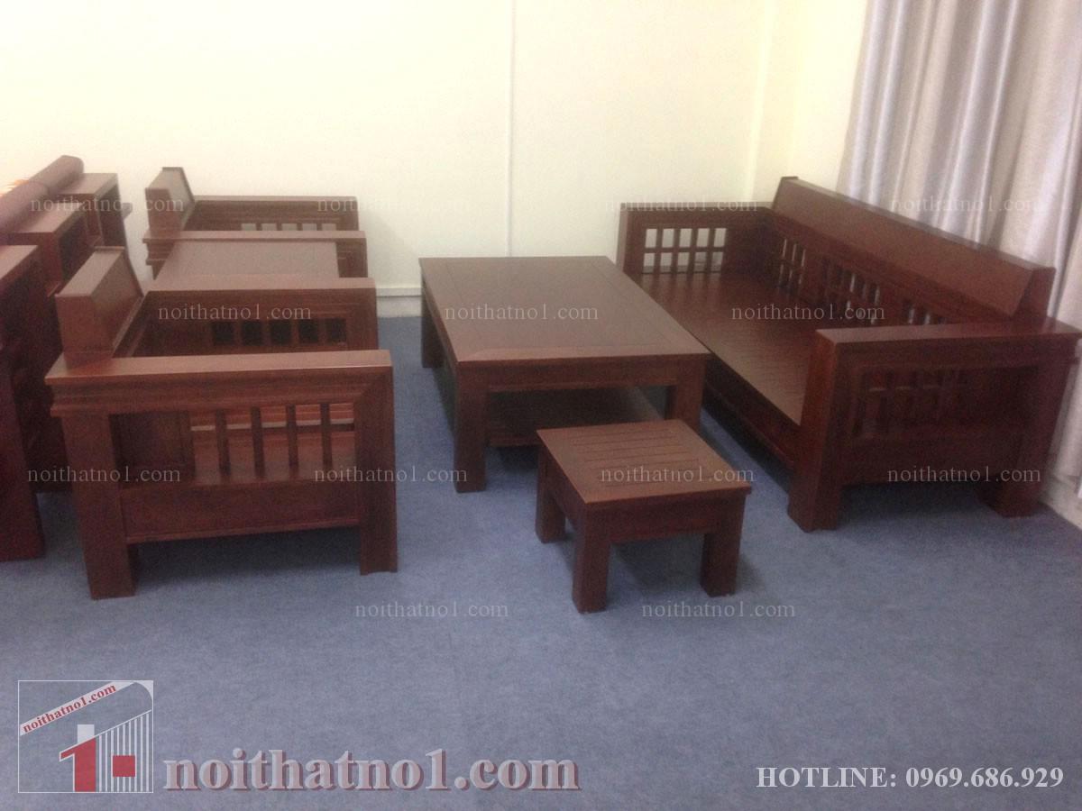 Bàn ghế phòng khách chung cư đẹp cho gia đình