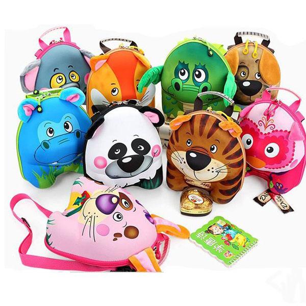 Những chiếc balo nhỏ gọn với hình dáng đáng yêu thích hợp cho bé đến trường mẫu giáo