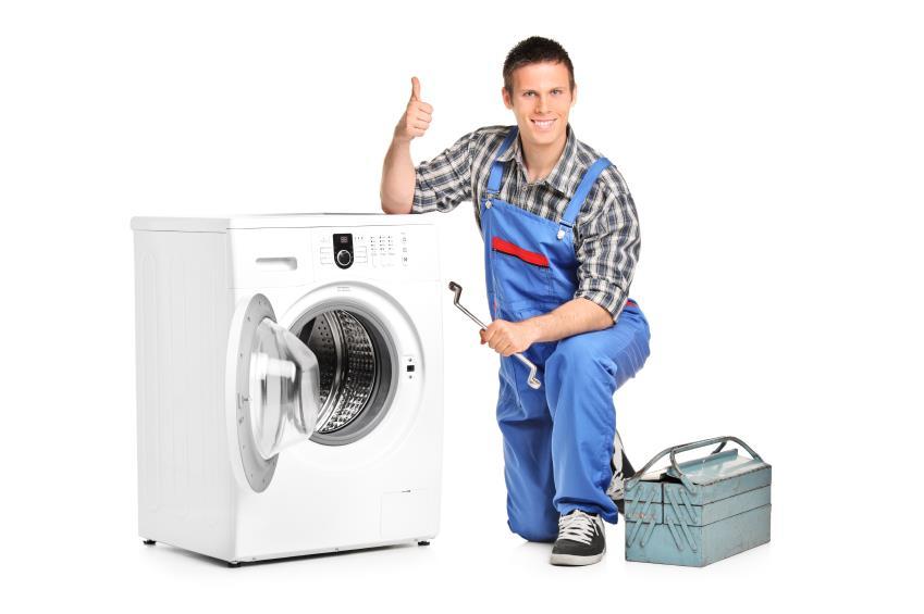 Gọi thợ đến để kiểm tra máy giặt