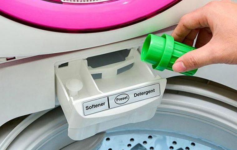 Lượng bột giặt cho vào trong máy giặt cần vừa đủ
