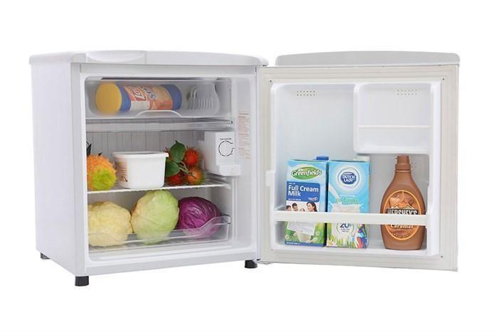 Không gian nhỏ gọn bày trí trong tủ lạnh mini