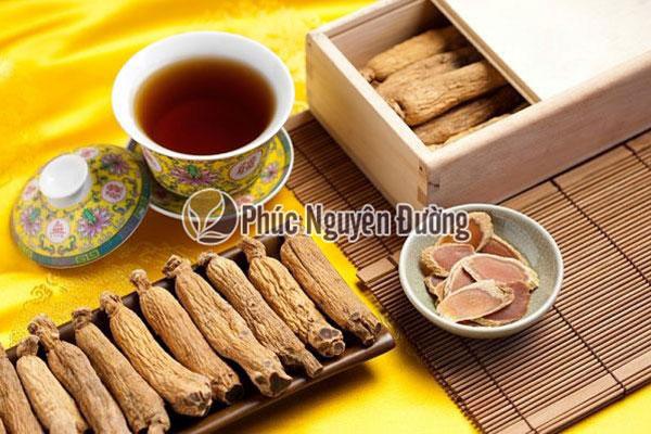 Đặc điểm của trà sâm