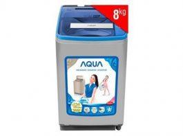 Cách vắt khô quần áo bằng máy giặt Aqua