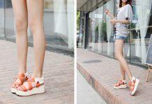Chọn sandal cao gót đẹp cho bạn gái
