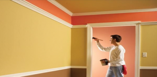 Cách tính diện tích sơn tường theo m2