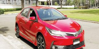Hướng dẫn sử dụng xe Toyota Altis 2018