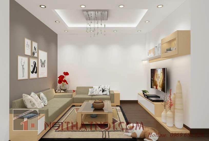 Ưu điểm của bàn ghế phòng khách chung cư gỗ sồi cao cấp