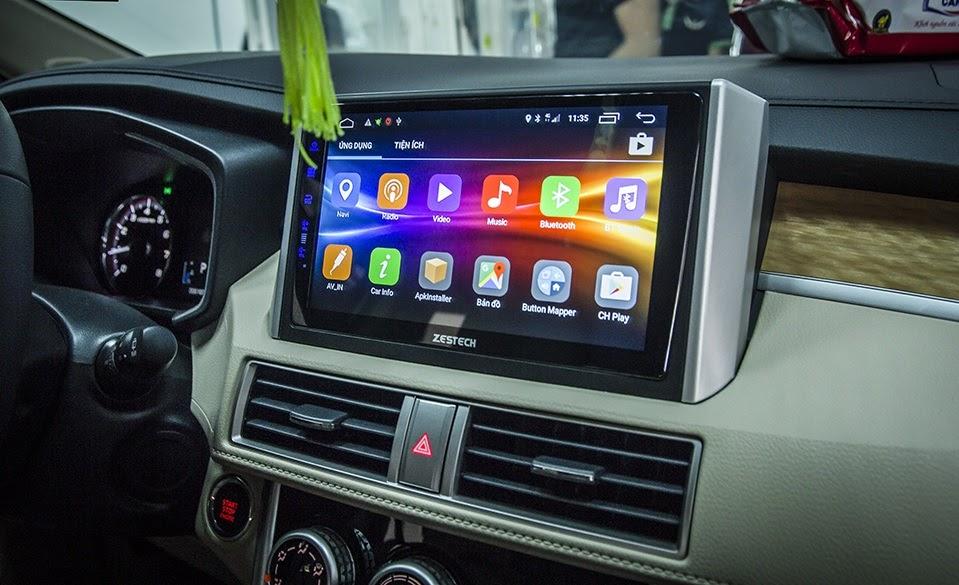 Quy trình lắp đặt đầu màn hình DVD Android cho xe Nissan X-trail chỉ bao gồm 4 bước