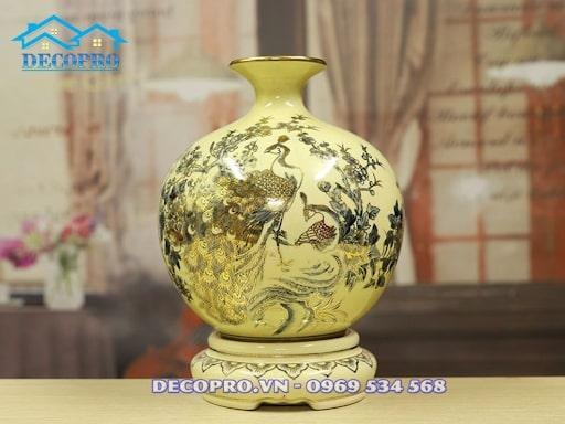 Bình gốm Chu Đậu vừa mang giá trị lịch sử, vừa mang giá trị phong thuỷ cao