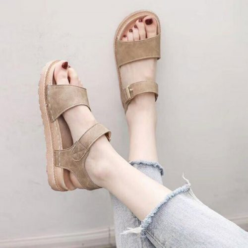 Sandal quai ngang bản to